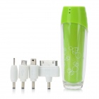 L262 External 2500mAh Emergency Power Battery Charger for iPhone / Cell Phone / MP3 / MP4 - Green