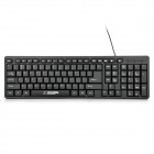 Hyundai HY-K580U USB 105-Key Wired Keyboard - Black