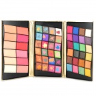 Kiss Beauty 8901 1# Cosmetic Makeup 48-Color Eyeshadow + 12-Color Blusher Set w/ PU Leather Case