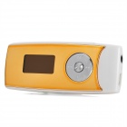 UnisCom V-P620 MP3 Player w/ TF / Speaker / Voice Recorder - Golden + White (4GB)
