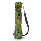 UltraFire 501B SSC Z7 620lm 3-Mode White Flashlight - Camouflage Green (1 x 18650)