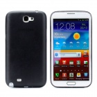 Stylish Ultra-thin Protective Plastic Back Case for Samsung Galaxy Note 2 /N7100 - Translucent Black