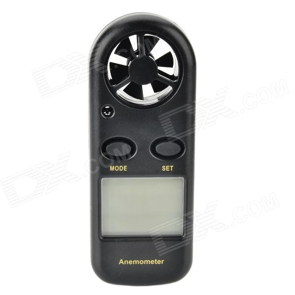 "1.5"" LCD Digital Wind Speed Anemoscope + Wind Chill Thermometer"