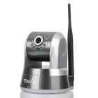 "TENVIS IProbot2 1/4"" CMOS 300KP Wireless Security Wi-Fi IP Camera w/ 10-LED Night Vision - Deep Grey"