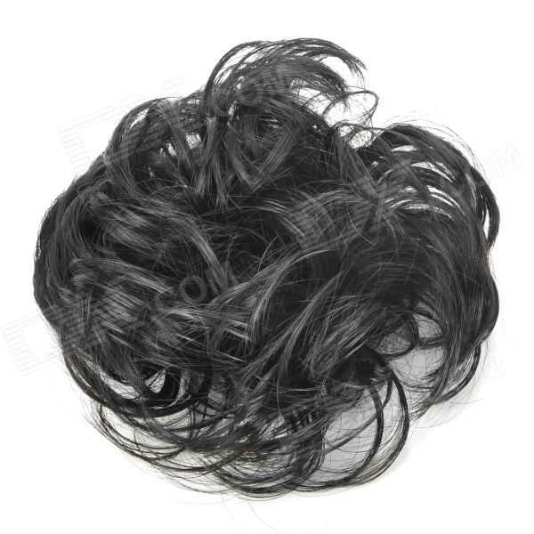 Fashion Hair Wig Style Elastic Fiber Band - Black
