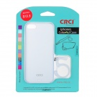 CRCI Silicone Protective Back Case w/ Stand Holder for Iphone 5 - Blue
