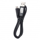 Micro USB Male to USB Male Data Charging Cable for Samsung i9300 / i9220 / HTC - Black (80cm)