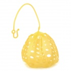 YF2752 Honeycomb Design TPR Cooking Food Pod - Translucent Yellow