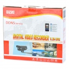 TCOYS ZEA-AFJK4001-D 4-CH C1 Real Time DVR Recorder w/ Mobile Surveillance / Network / Mouse - Black