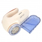 JINDING JD800 Rechargeable Ball Fabric Sweater Clothes Shaver Lint Remover - White + Light Blue