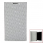 Protective PU Leather Case w/ Card Slots for Samsung Galaxy Note 2 N7100 - Grey