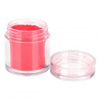 BK #2 DIY Velvet Nail Decoration Flocking Powder - Red