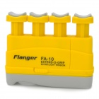 Popular Flanger FA-10 Plastic Finger Strength Training Device for Piano / Guitar + More - Yellow