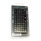 RII Mini R600 Mini Handheld 66-Key Wireless Keyboard for Laptop - Black
