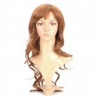 Fashion Long Curly Hair Wig - Golden Brown