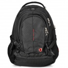 SWISSKING SK9393S Anti-Shock Polyester Backpack for 15'' Laptops / Tablets - Black