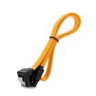 SATA Hard Drive Data Cable - Orange (35cm)