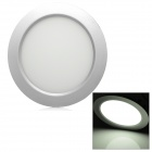 "6"" 8W 700lm 6500K White 10-LED Round Panel Light Lamp - White (100~240V)"