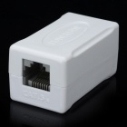 PowerSync CAT.5 RJ45 8P8C Female to Female Network Adapter - White
