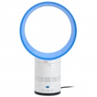 Cool Safety Bladeless Fan - White + Blue