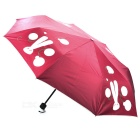 LH Rainbow Magic Rain Change Color UV Protection Umbrella - Red