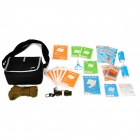 Cror YS-N-007A Professional Portable Outdoor 15-in-1 First Aid Bag - Black