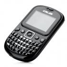 "OLA POP 1.8"" LCD Screen Dual-SIM GSM QWERTY Phone w/ Quad-Band / TV / Bluetooth / FM - Black"
