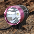 SingFire SF-90 Cree XM-L T6 800lm 4-Mode White Bicycle Headlamp - Purple (4 x 18650)
