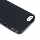 Hotsion i5-05 Fashion Protective Silicone Case for Iphone 5 - Black