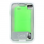 Hotsion i5-05 Protective Silicone Back Cover Case for Iphone 5 - Translucent Green