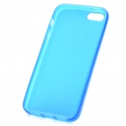 Hotsion i5-05 Protective Silicone Back Cover Case for Iphone 5 - Translucent Blue