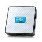 Super Speed USB 3.0 4-Port HUB - White + Blue + Black