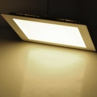 18W 1600lm 3500K Warm White 90-SMD 2835 LED Square Panel Light Lamp - White (90~265V)