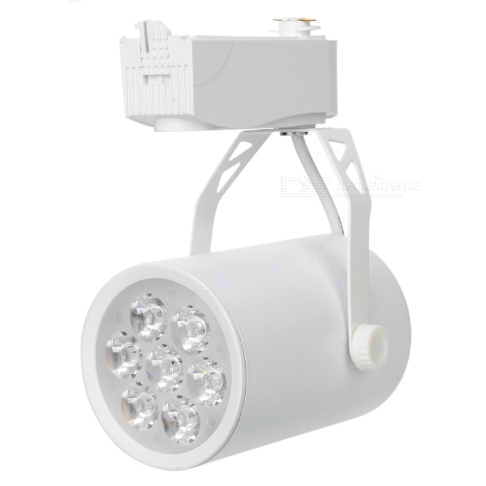 7W 510lm 6500K blanco 7-LED spot light - blanco (100 ~ 240V)