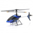 SH-6033 Rechargeable 3,5-CH 2.4GHz Radio Control R / C Helicopter w / Gyro - Blue + Black