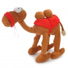 lg1001 Cute Camel Style Plush + PP Cotton Doll - Brown + Red + White