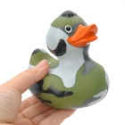 Funny Floating Duck Bath Toy for Baby / Kid - Camouflage Green + Orange + Grey