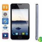 JiMi G1503 6'' Capacitive Touch Screen Android 4.0 Bar Phone w/ Dual SIM / Wi-Fi / GPS - Black