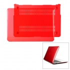 "Protective Full Body PC Case for MacBook Air 13.3"" - Translucent Red"