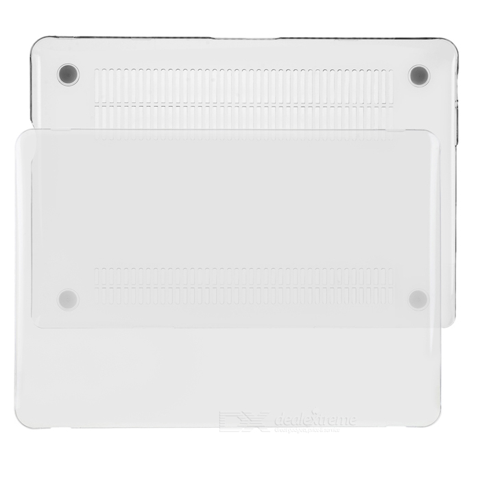 "Protective Full Body PC Case for MacBook Pro 13.3"" - Transparent White"