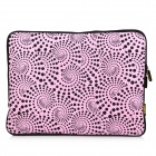 "ENKAY ENK-2002 Heat Transfer Printing Protective Bag for 14"" / 14.1"" / 14.4"" Laptop Notebook - Pink"