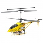 IA-8827A Rechargeable 3.5-CH Radio Control R/C Helicopter w/ Gyro / LED - Golden Yellow