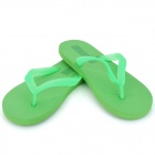 Sandy Beach Weich-PVC-Glow-in-the-Dark Hausschuhe - Green (Größe 42 / Pair)