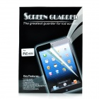 PET Anti-reflectional Screen Protector for iPad Mini - Transparent White