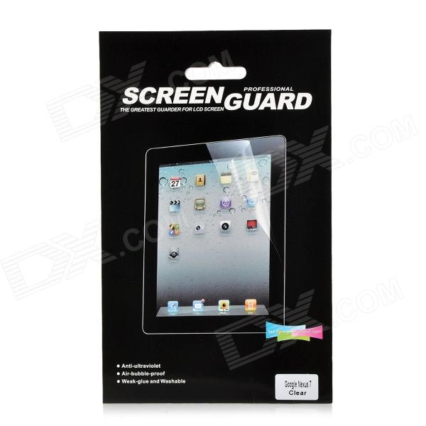Protector de pantalla brillante Guardia PET para Google Nexus 7