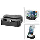 8-pin Lightning Charging Dock Cradle for iPhone 5 - Black