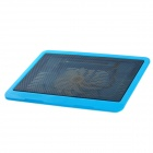 "N19 USB Cooling Pad for 14"" Laptop Notebook - Blue + Black"