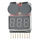 MD-8S High Accuracy Voltage Test Buzzer Alarm Module - Black