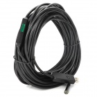 IP67 Waterproof USB 2.0 CMOS 6-LED Snake Camera Endoscope w/ Reflective Lens - Black (15m)