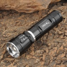Small Sun ZY-C94 Cree XR-E Q5 185lm 3-Mode White Zooming Flashlight - Black (1 x 18650)